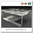 2 Levels Car Garage Carport Designs for Basement Parking Lot