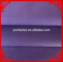 2014 fashion latest new Italy design purple dyed cvc t/c cotton twill fabrics