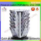 clear Acrylic picture display stands/High quality acrylic picture display stand