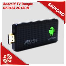 MK908iii mini pc smart android tv dongle hdmi