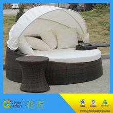 new design pe rattan garden furniture wicker sofa lounges