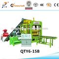 Hot vente 2014 prix bas qty6-15 entièrement automatique hydraulique mur de briques