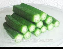100% High Quality 2014 New produce frozen okra