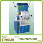 wood handle polishing machine for broom