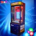 las ventas caliente construir un regalo de ladrillo de la máquina del bloque de juego partido maquinas de premio