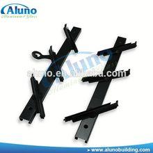 Aluminum jalousie frame