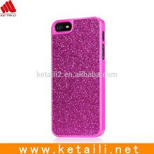 For Apple iPhone 4/5/6/6 plus Bling Glitter PC Hard Mobile Phone Case