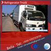 4T DFAC high quality refrigeration truck , mini refrigerated van