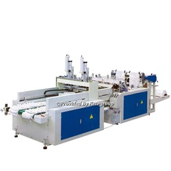 Hot Sealing Hot Cutting T-shirt Bag Making Machine(With Auto Puncher)