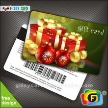 High end gift card
