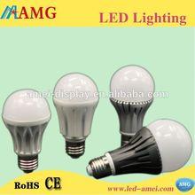 High brightness long life 2013 most cost-effective 12w 7w e27 led bulb lamp 3-9W
