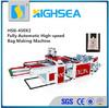 china shopping plastic bag making machine price
