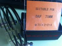 DAF 75MM piston ring / oem manufacturer of piston ring