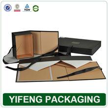 custom fashional foldable with pvc window e-co friendly perfume oil box