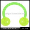 BIOPLAST Green GLOW in the DARK Circular Horse Shoe