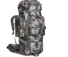 Nylon Super Large Capacity Outdoor Camping Backpack For Man