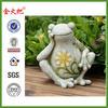 Wholesale Garden frog figurine for decoration&frog statue