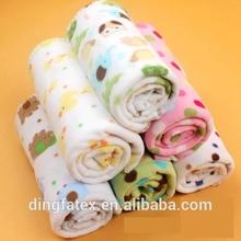Cheap wholesale a lot of 100% polyester 140-240 grams of heavy polar fleece blanket