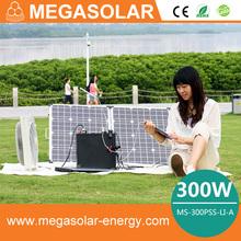 convert 220v ac to 110v ac portable solar generator for home use