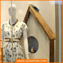 customized wooden bird house
