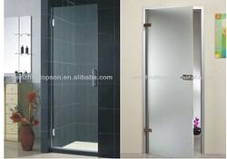 Frameless Glass Entry Door/Hinge Pivot Door