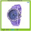 2014 Wholesale silicone rubber sport/jelly watch