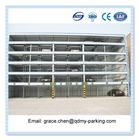 Multi Level Mechanical auto car park system steel structure parking lot