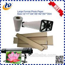 cast coated semi glossy inkjet photo paper for inkjet print roll