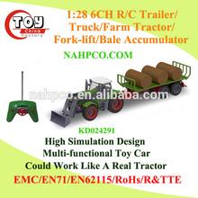 1:28 6CH R/C Farm Tractor/Trailer/Truck/Fork-lift/Bale Accumulator