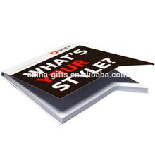 2012 hot sell die cut note pad