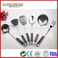 Novo design de concha turner colher de servir b1601-b1609 utensílios para casa