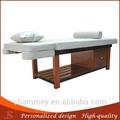 madera mesa de tratamiento de madera facial aqua mesas de masaje de madera faciales del retiro del pelo uso en el hogar cama