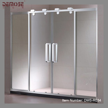 glass bothroom shower water heater door hinges