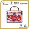 lovely cartoon aluminum beauty case, cosmetic case, make up case