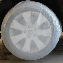 Promotional car tire cover for all car brand