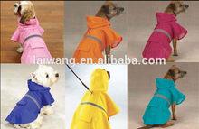 Fashion wholesale dog raincoat