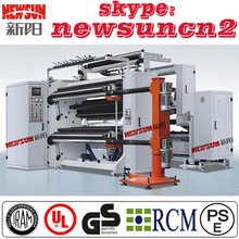 Advanced paper slitting and rewinding machine