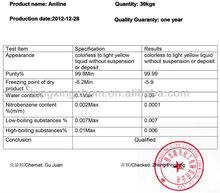 China Aniline price (CAS: 62-53-3)