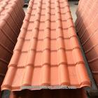 heat insulation spanish teja fiberglass roofing tiles