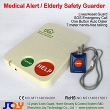 senior alert medical,elderly medical alert system,wireless panic button emergency calling system T10G