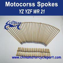 "For Yamaha YZ YZF WR 21"" Motorcycle Spoke Wholesale FMSNP008"