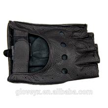 Mens motorcycle gloves, Deer skin driving gloves,Stock leather gloves (F068