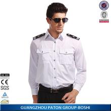 Cómodo de seguridad de manga larga de la camisa, Guardias de seguridad uniformes, Mejor precio de seguridad de la camisa para, Scsr-102