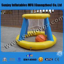 Hot Sale PVC Kid's Inflatable Indoor Basketball Hoop