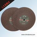 abrasiva de la aleta de la resina de fibra de vidrio de corte del disco off