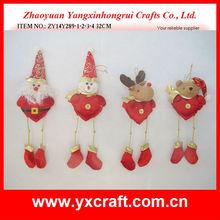 Christmas stuffed toy ZY14Y289-1-2-3-4 32CM - cute snowman