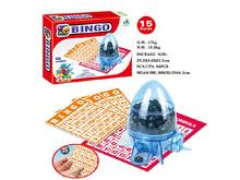 family play game new design ABS indoor bingo game set with EN71