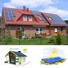 Blueusn high quality on-grid home solar panel kit 5000w