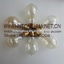 Vintage Retro A19 light bulb E26 / E27 110V / 220V 40W