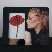 open hot sexy girl photo frame,mdf picture frame